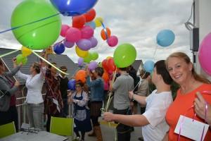 Luftballon-Aktion